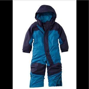 LL Bean Toddler Snow Suit 2t